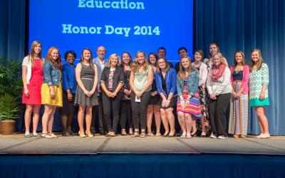 BCOE Honor Day 2014