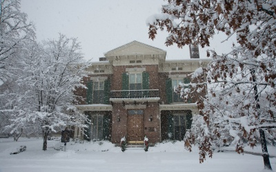 Condit House in Winter
